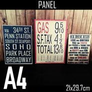 A4サイズ(パネル付き)