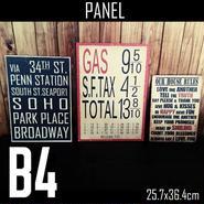 B4サイズ(パネル付き)