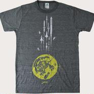 月基地からロケットTシャツ