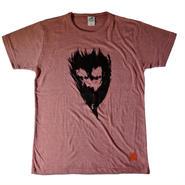 かわいい魔王Tシャツ レッド メンズ