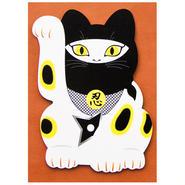 【ZA-016】にゃんPOS:招き猫×忍者