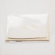 【S-006】サンキューカード 〜コットン・布目〜