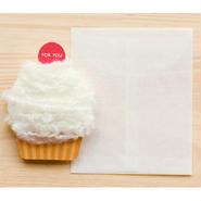 【ZA103】くるくるカップケーキカード