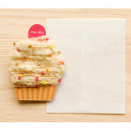 【ZA102】くるくるカップケーキカード
