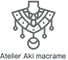 オリジナルデザインの天然石マクラメジュエリー*Atelier Aki macrame*