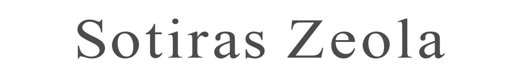 ソティラス ゼオラ Sotiras Zeola