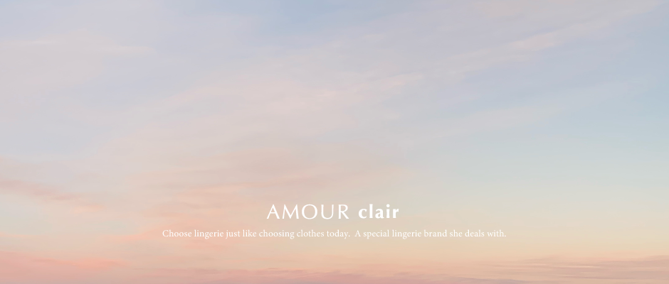 AMOUR clair