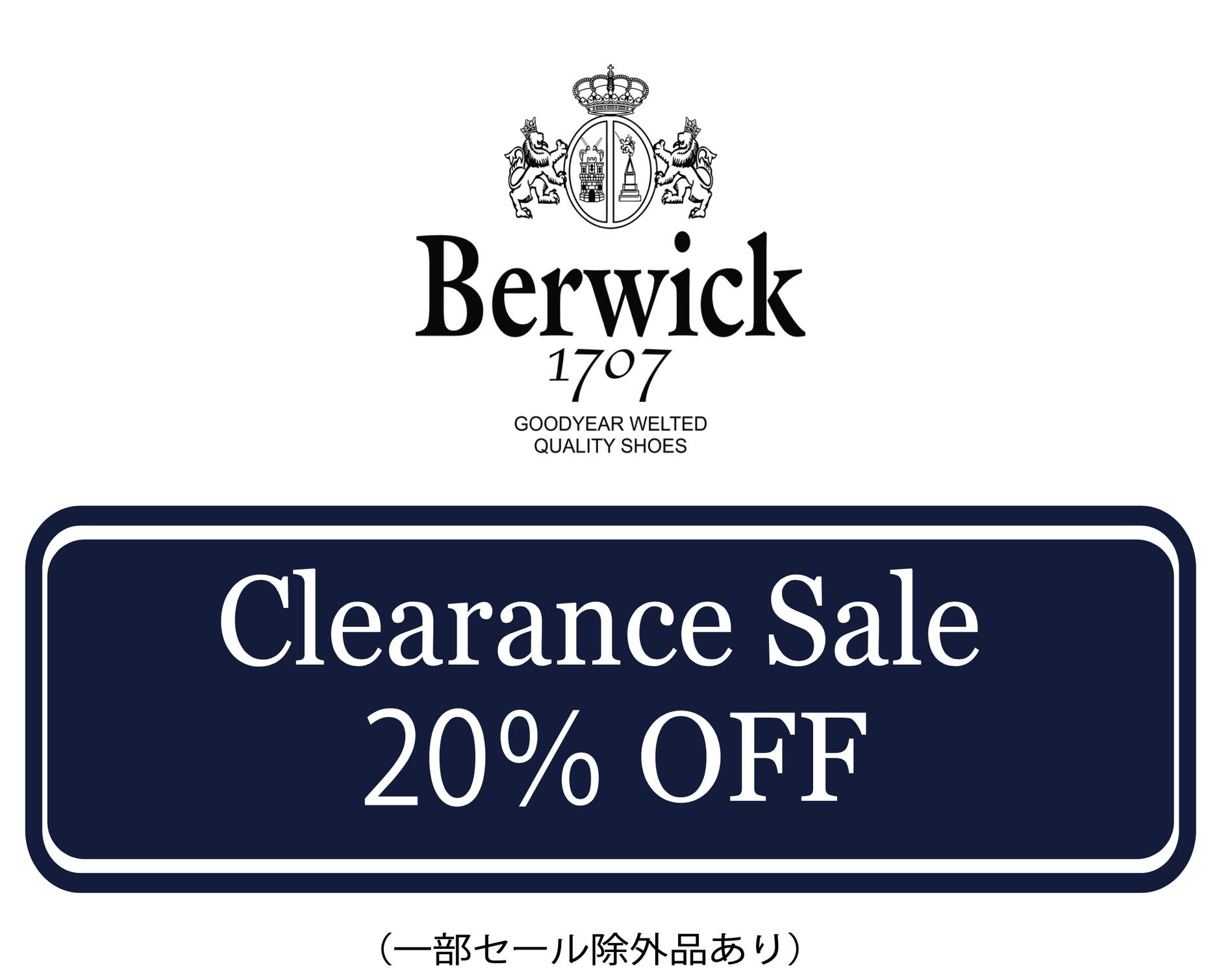Berwick Japan online store