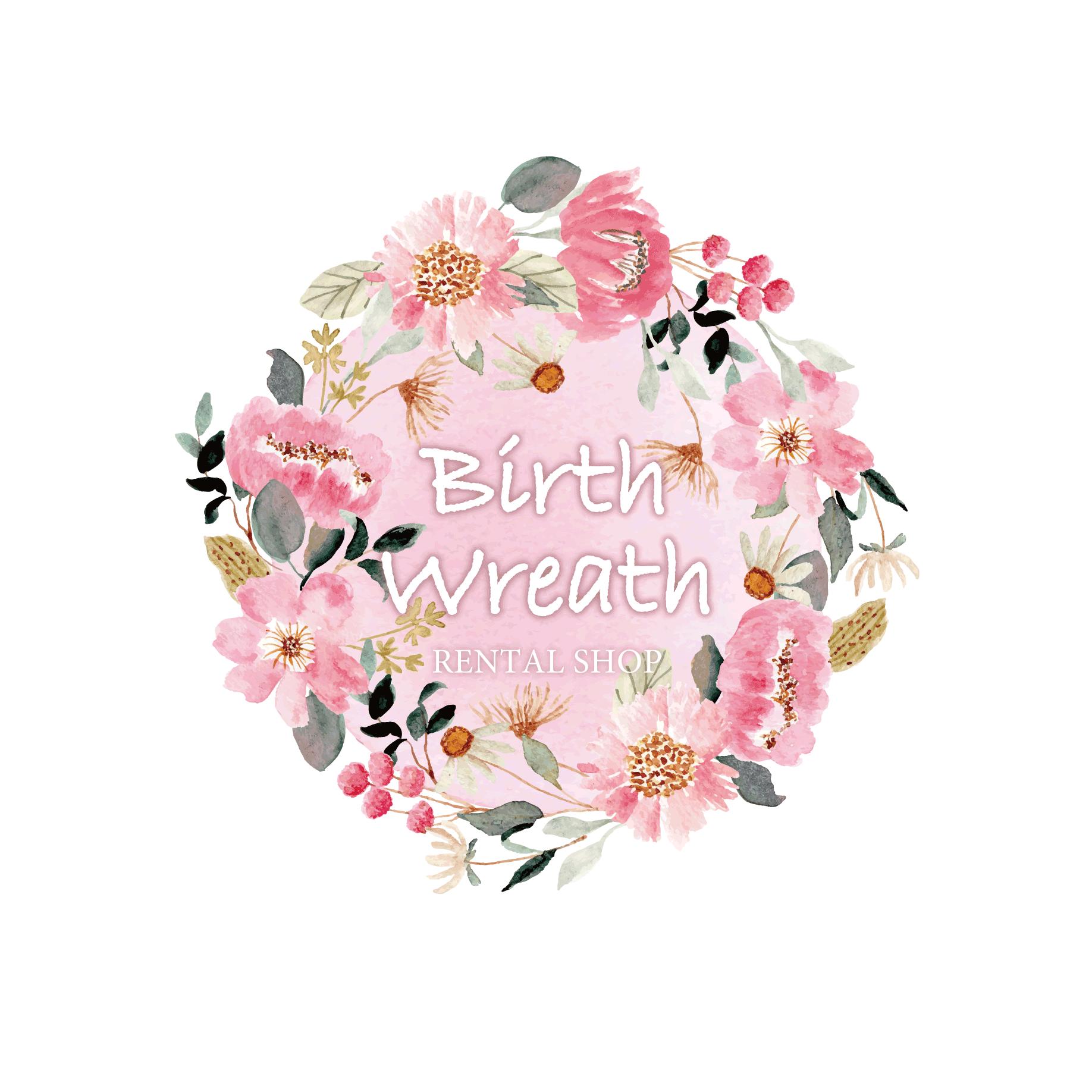ニューボーンフォト・記念日フォト撮影グッズレンタル/Birth Wreath