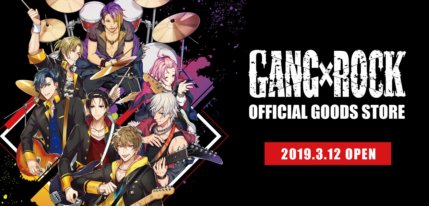 GANG×ROCK OFFICIAL GOODS STORE