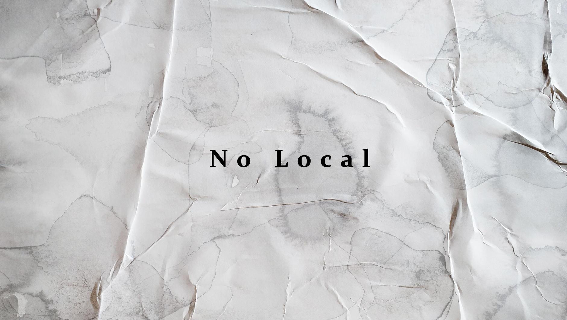 No Local