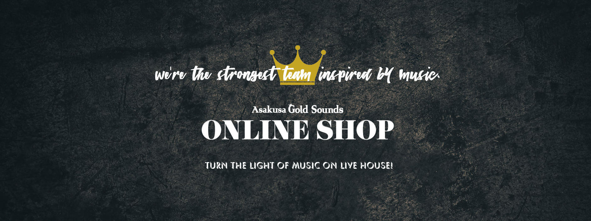 Asakusa Gold Sounds ONLINE SHOP