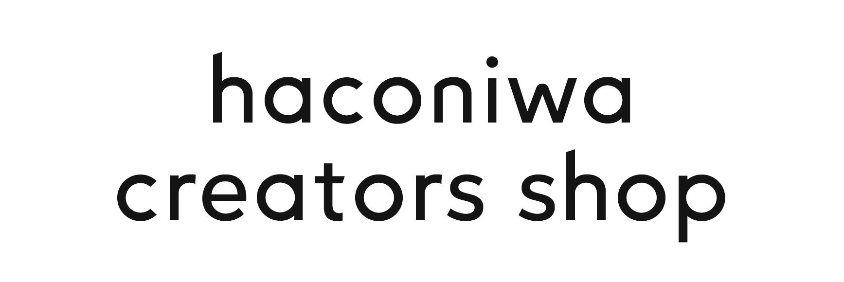 haconiwa creators shop