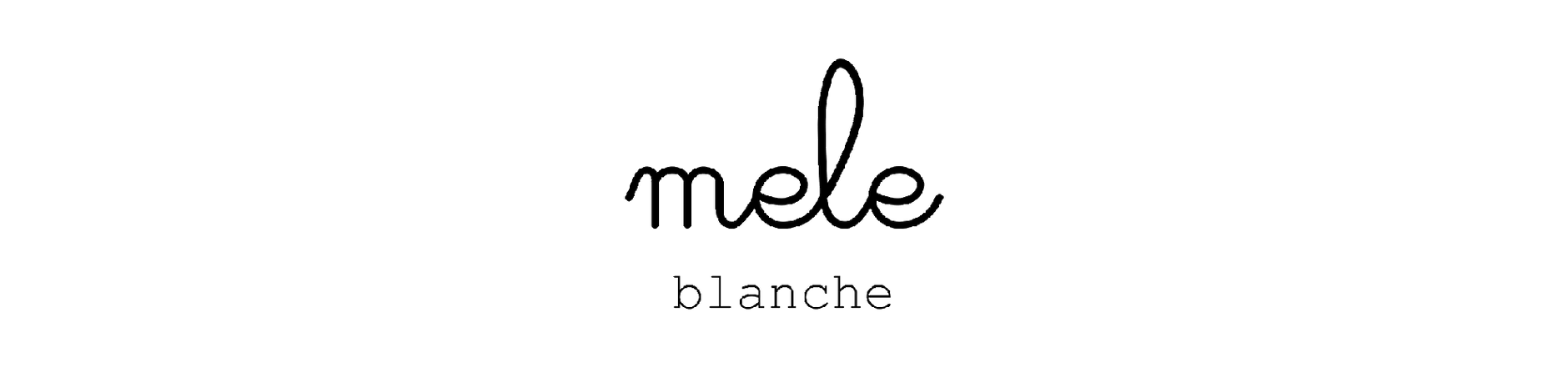 mele blanche