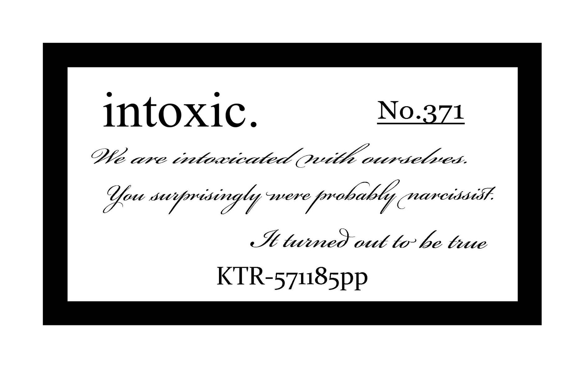 intoxic.