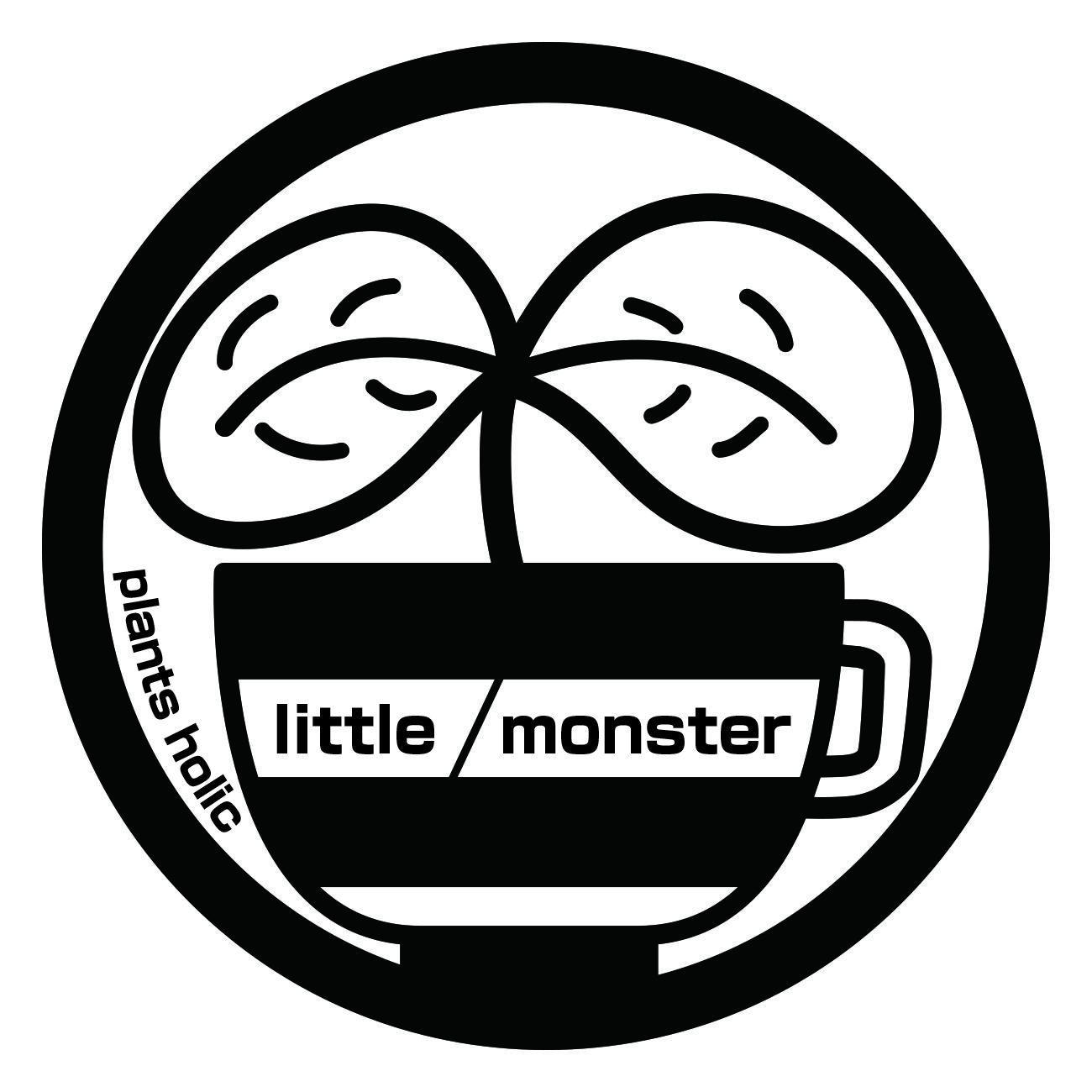 """plants holic     """"little monster"""""""