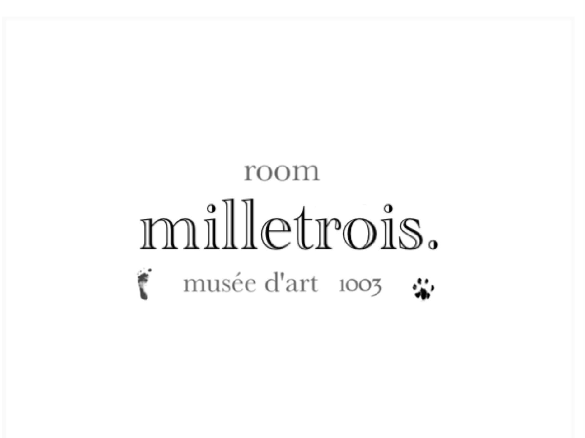 room    milletrois .           《 ルーム  ミルトロワ  》