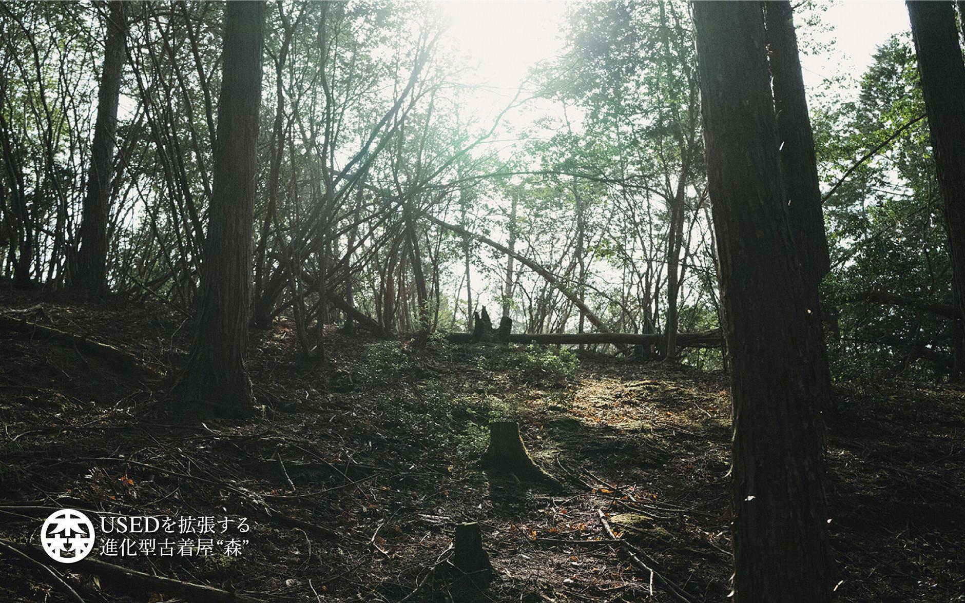 """京都河原町のUSEDを拡張する進化型古着屋""""森""""の公式通販"""
