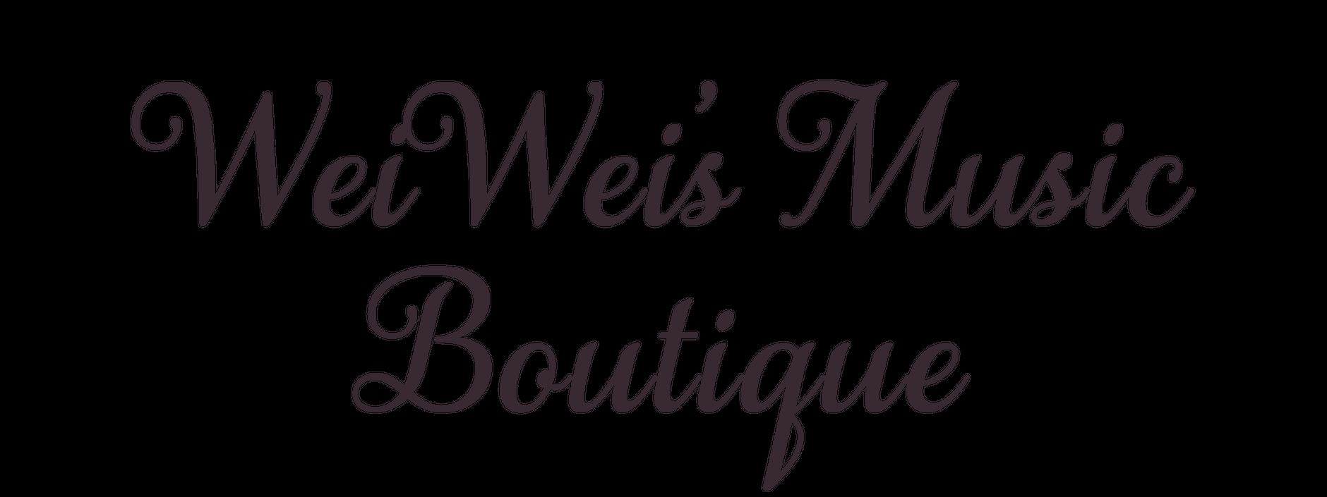 WeiWei's Music Boutique