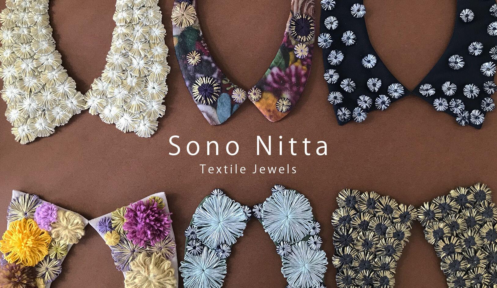 Sono Nitta Textile Jewels