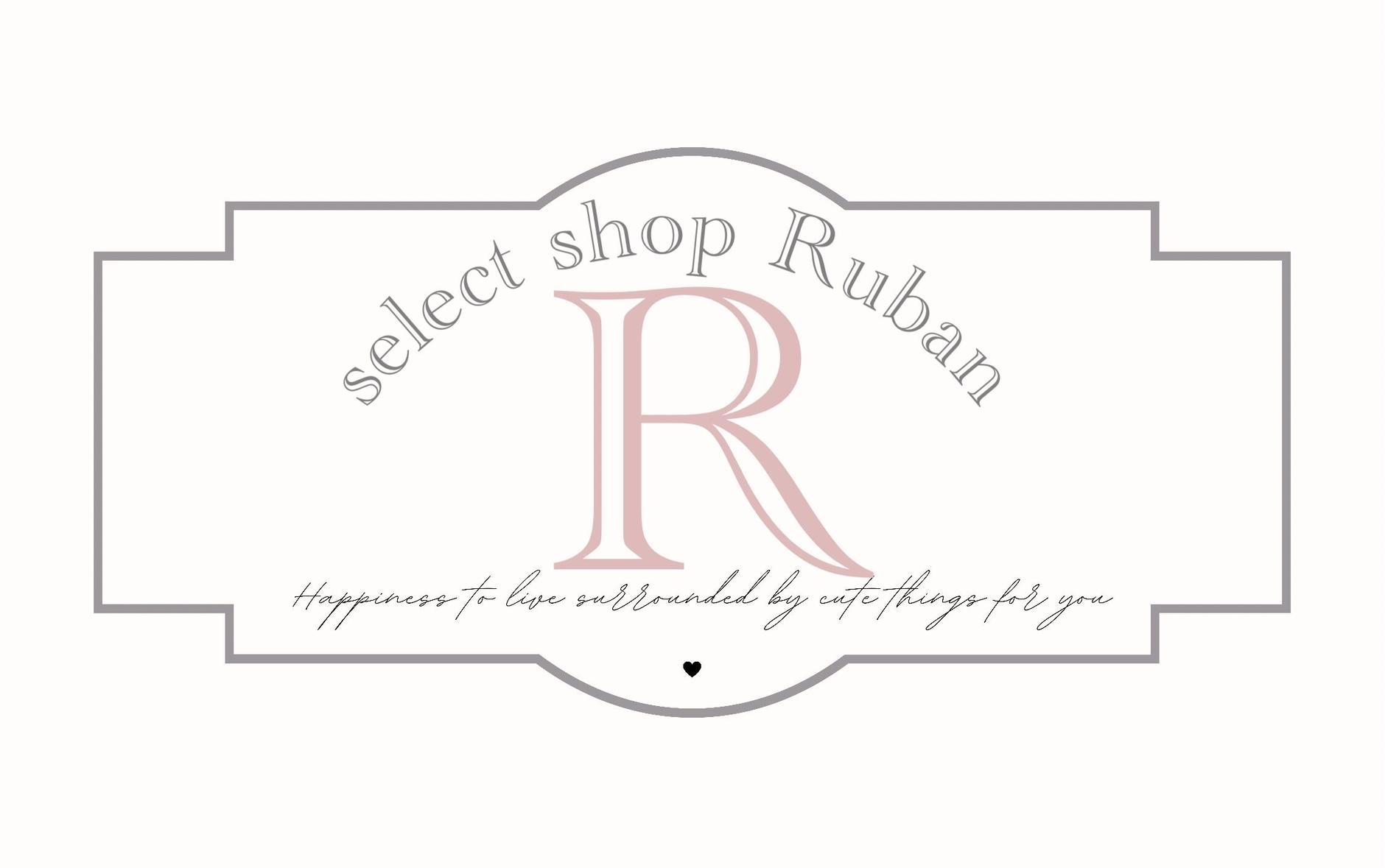 select shop Ruban