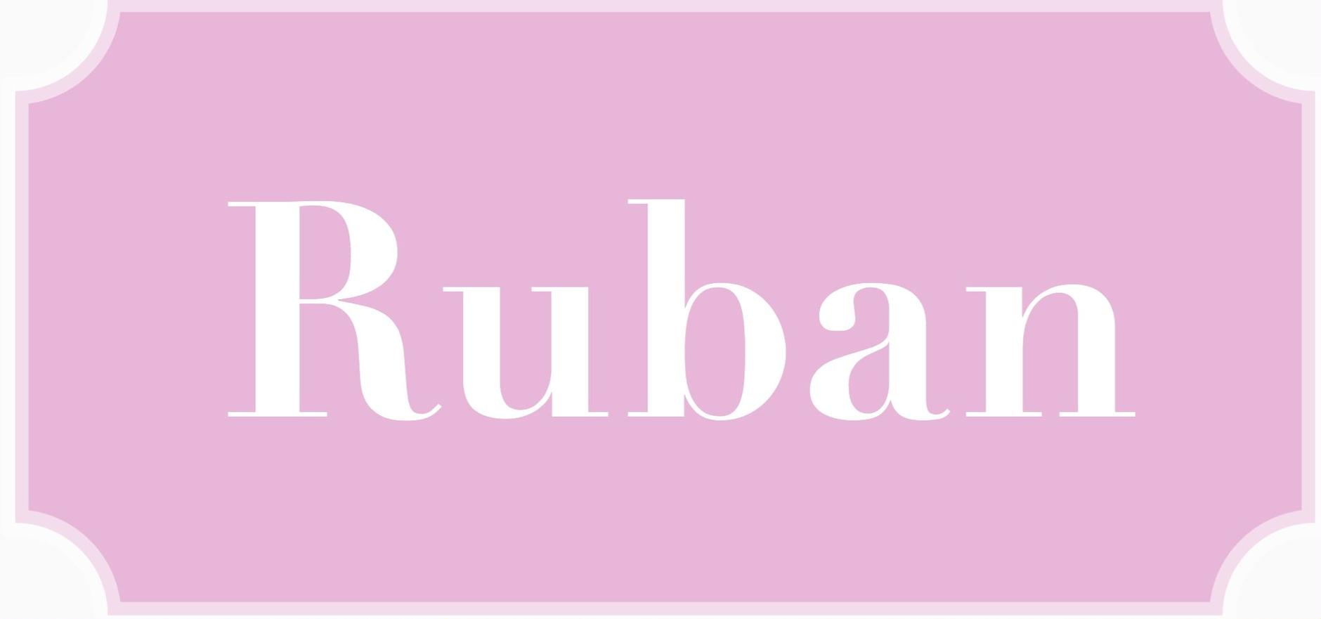 select shop Ruban