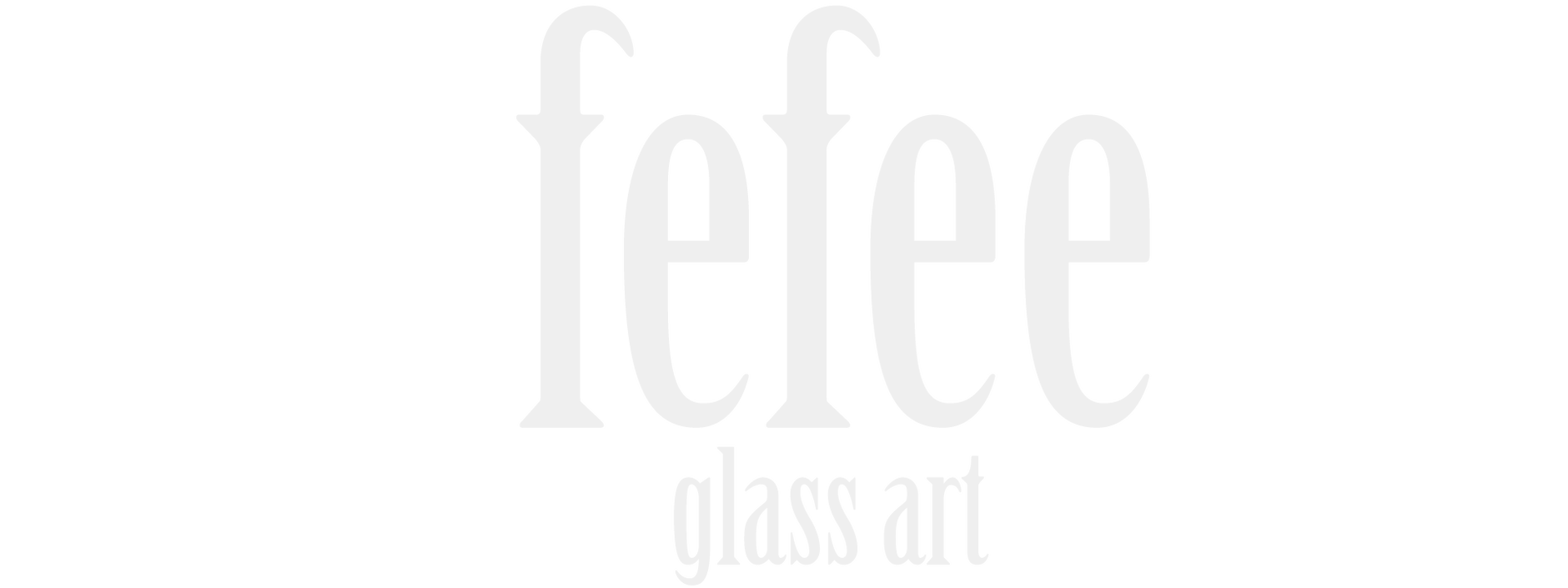 fefee glass art