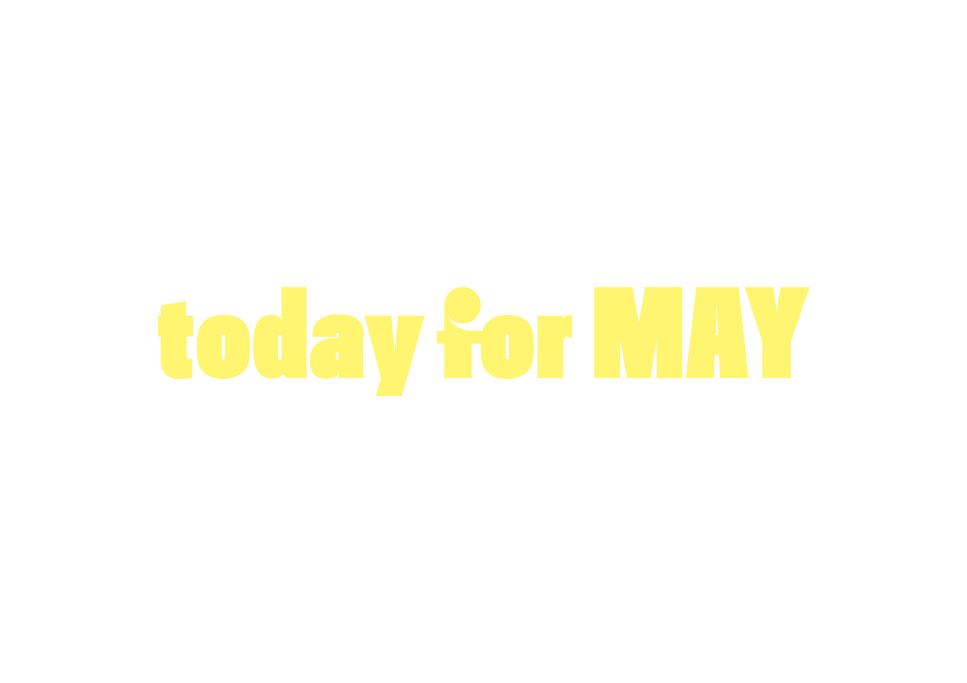 today for MAY