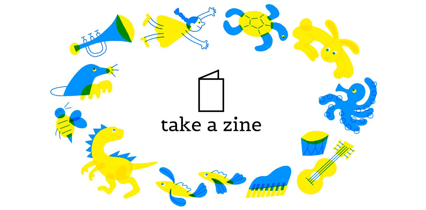 take a zine