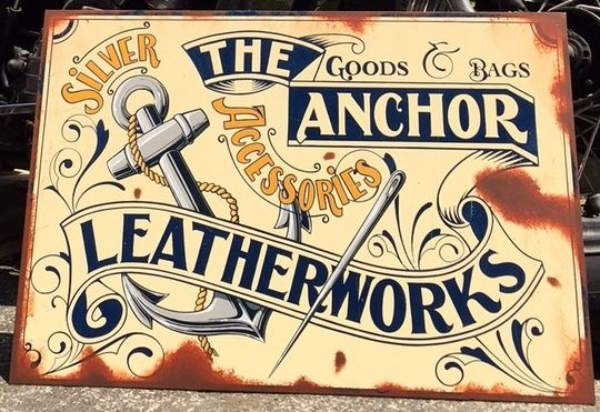 THE ANCHOR LEATHER WORKS