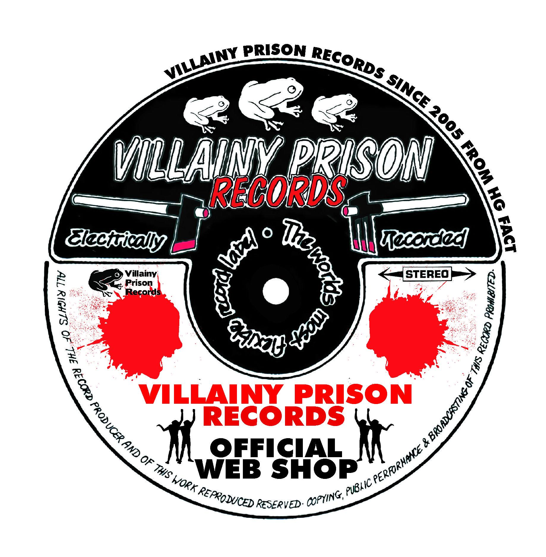 VILLAINY PRISON RECORDS STORE