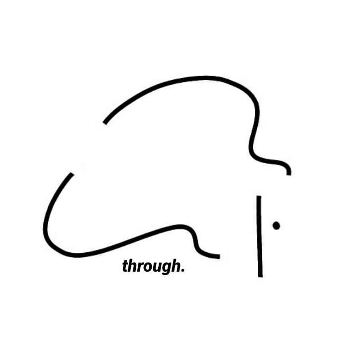 through .