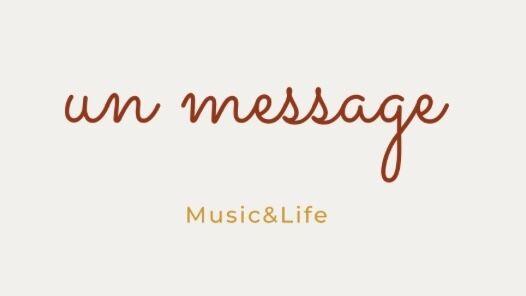 Un message