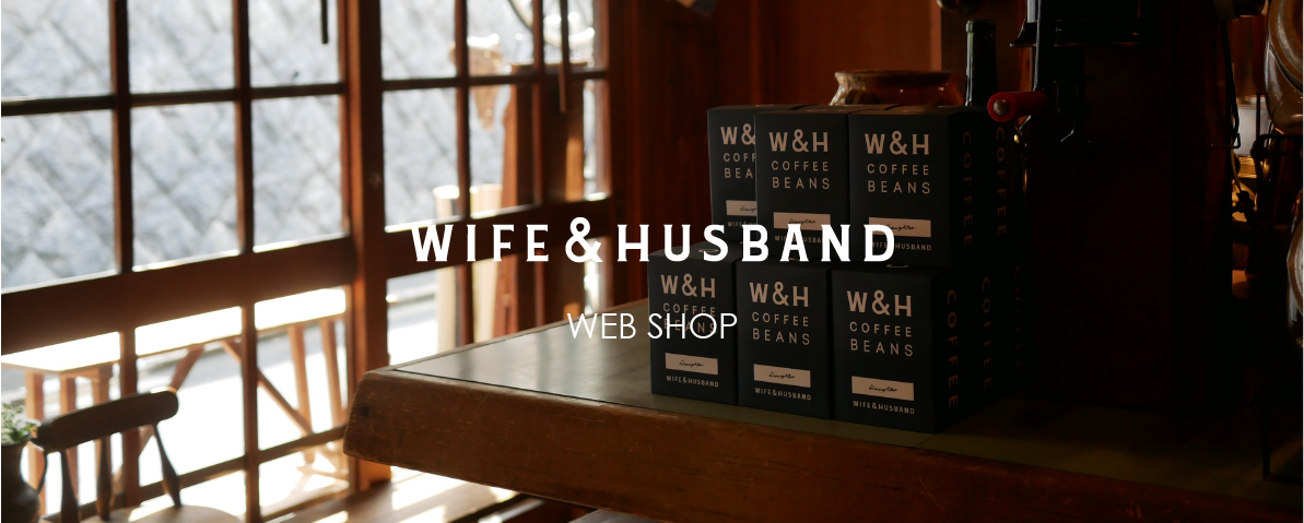 WIFE&HUSBAND WEB SHOP for overseas