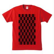 宙也 50 T-Shirt Designed by zoestyles (Red) size:Girls-L