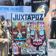 JUXTAPOZ  MAGAZINE  ISSUE #66 JULY 2006