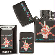 INDEPENDENT  MARK GONZALES  MY NAME IS GONZALES  ZIPPO LIGHTER