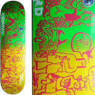 KROOKED  BOBBY WORREST  FADED  DECK  (8.06 x 31.97inch)