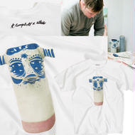 ATLAS x THOMAS CAMPBELL  YAR FACE CERAMIC TEE