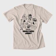 """くねくねTEE """"Go-Wiggle T-shirts""""(ナチュラル)"""