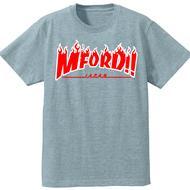 2017年M4DJAPAN公式Tシャツ GY/RD