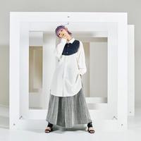 Jewel long shirt / 2color