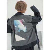 Nia suede rider's jacket / Black