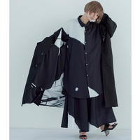 Errata long jacket coat