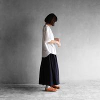 オーガニックコットン半袖リブカットソー【ユニセックス】