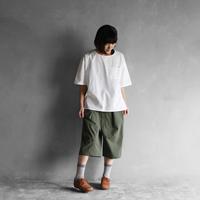 オーガニックコットン半袖ポケットカットソー【ユニセックス】