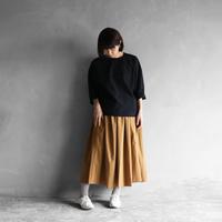 オーガニックコットンプルオーバ(クロ)【レディス】