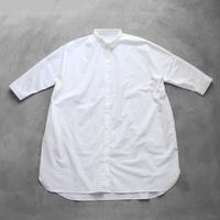 やわらかコットンロングシャツ【ユニセックス】