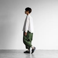 パラシュートクロスバルーンパンツ(エバーグリーン)【ユニセックス】506