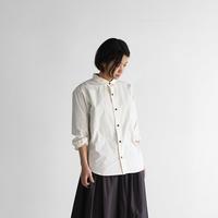 オーガニックコットンシャツ(アイボリー)【ユニセックス】013
